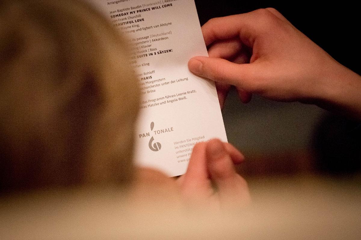 Veranstaltet wurde das PhilHarmonika Konzert vom PANTONALE e.V. – werden Sie jetzt Mitglied in dem gemeinnützigen Verein!