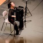 Jinghan Lin aus China, 1. Preis in Kategorie III, spielt die Caprice No. 1 von Viacheslav Semionov