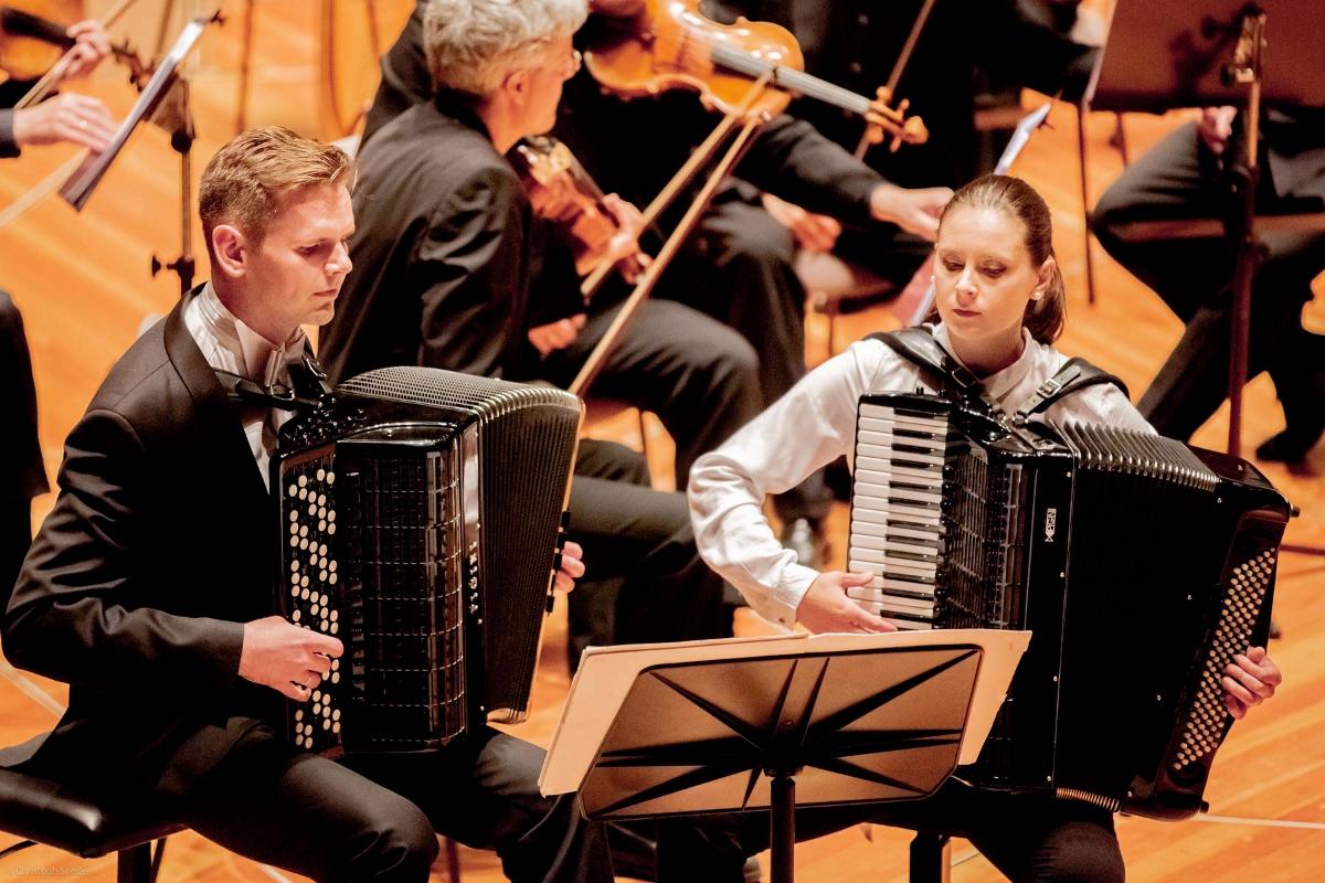 """G. Palus (Polen) und A. Budziňáková (Slowakei) - Duo """"Accosphere"""""""
