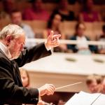 Der ukrainische Dirigent V. Zubitsky