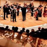 Y. Shishkin mit Orchester