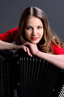Anna Kryshtaleva - Akkordeon
