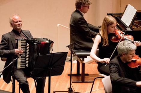 Trio L'art de passage aus Deutschland. Foto: Christoph Soeder