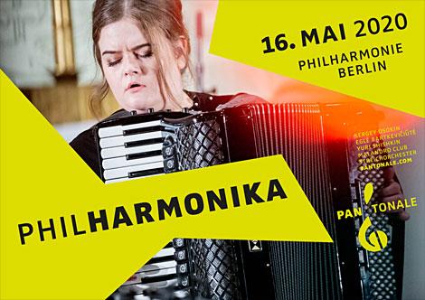 PhilHarmonika 2020 - Galakonzert am 16. Mai 2020 in der Philharmonie Berlin
