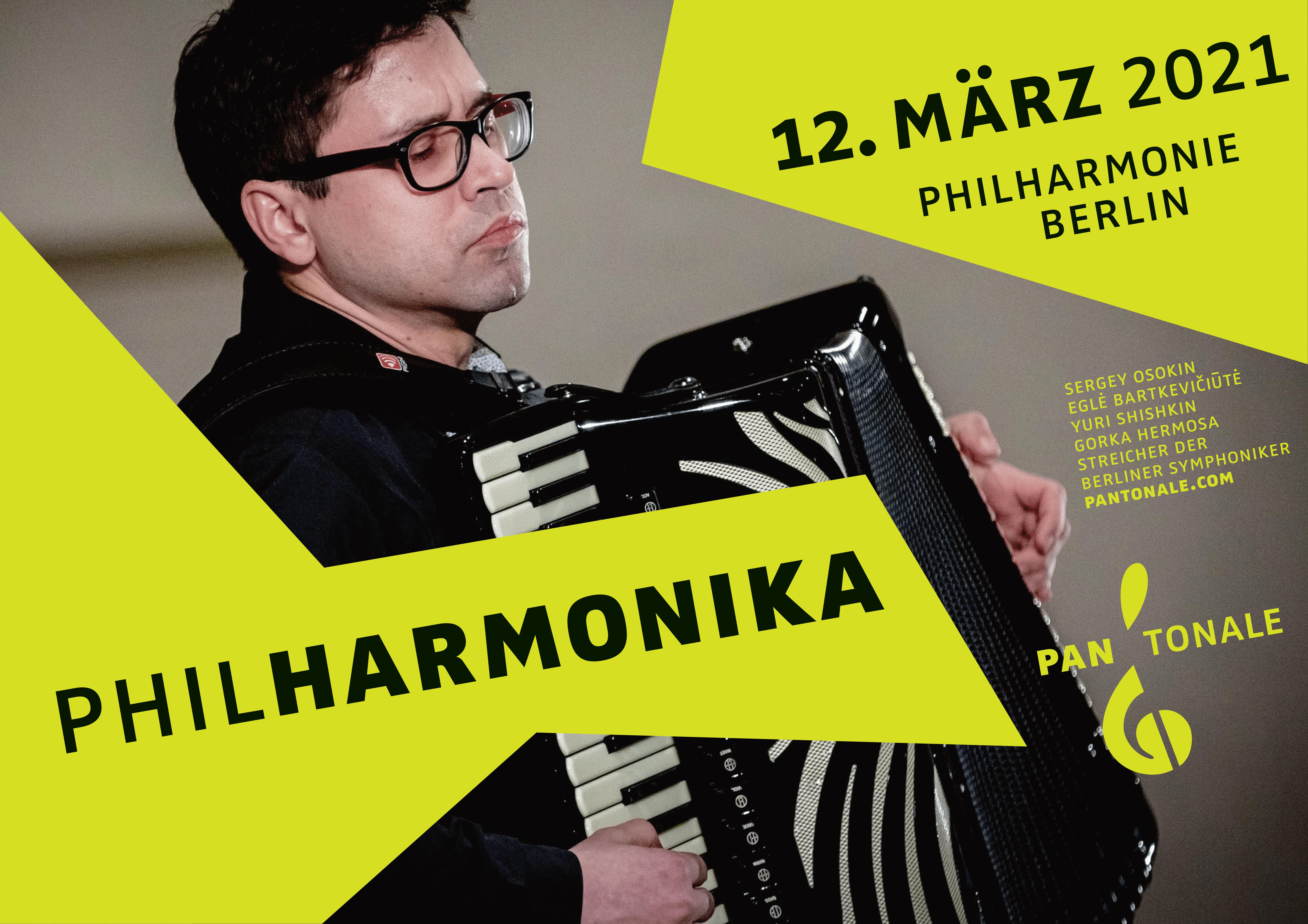 PhilHarmonika 2021 - Galakonzert am 12. März 2021 in der Philharmonie Berlin